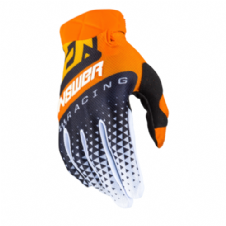 New 2020 Adult Answer AR3 Korza ORANGE BLACK BUS Gloves